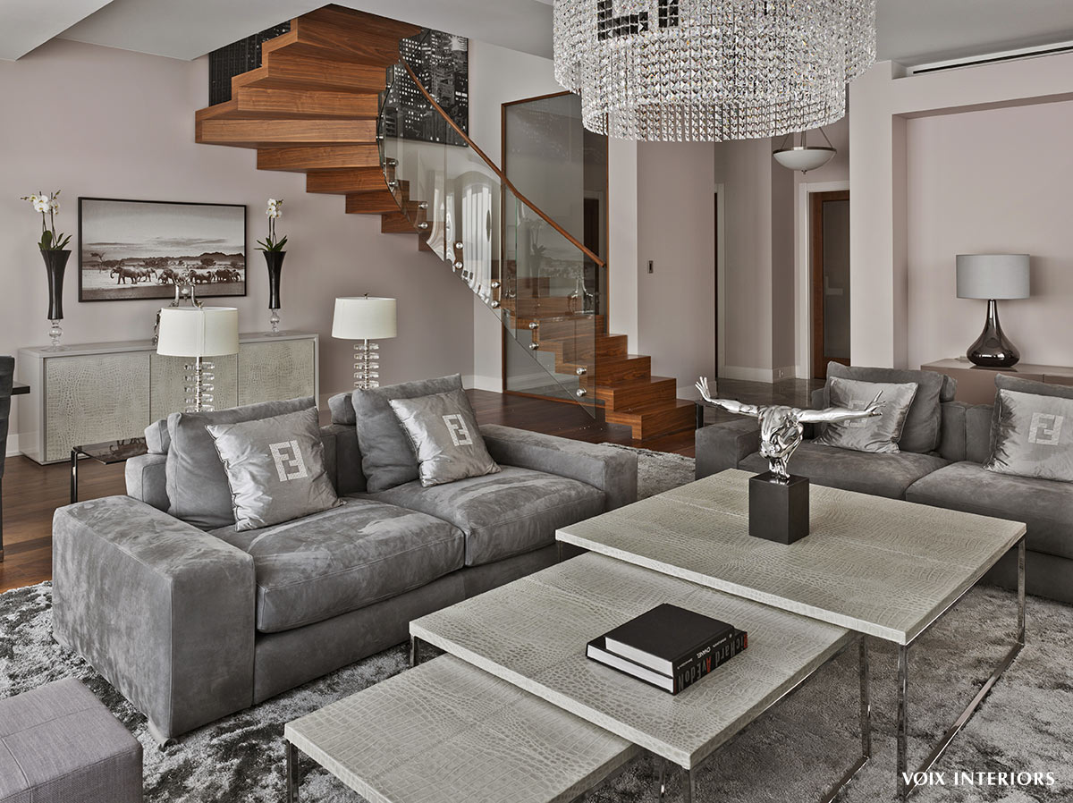 Voix interior design for Designer casa